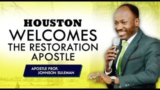 Download THE SUPERNATURAL - HOUSTON TX (DAY 2 MORNING) With Apostle Johnson Suleman Video