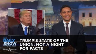 Download Trump's State of the Union: Not a Night for Facts: The Daily Show Video