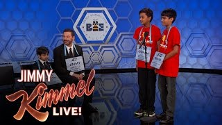 Download 13th Annual Jimmy Kimmel Live Spelling Bee Video