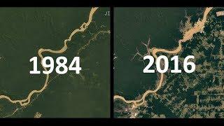 Download IMAGENS DE SATÉLITE 1984-2016: 32 Anos de Mudanças na Terra Video
