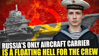 Download Russia's only aircraft carrier, the Kuznetsov, is a floating hell for the crew Video