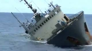 Download Ship Sinking - Sea Shepherd Rescues Crew of Sinking Vessel Video