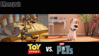 Download 'The Secret Life Of Pets': Side-By-Side With Toy Story Video