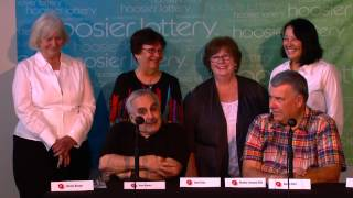 Download 2012's newest Hoosier Lotto jackpot winners: the ″Thursday Lunch 6″ Video