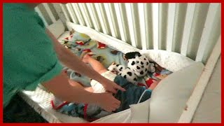 Download TODDLER GETS TRAPPED IN CRIB!! Video