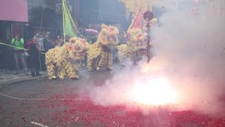 Download Chinese New Year 2017: Yau Kung Moon USA Lion Dance and Firecrackers - Lee Family Association Video