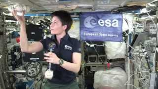 Download Barycentric balls in space - classroom demonstration video, VP07b Video