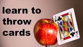 Download This Week I Learned to Throw Cards Video