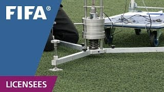 Download FIFA certified football turf - testing procedure Video