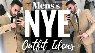 Download MEN'S NYE 2017 OUTFIT IDEAS!! Video