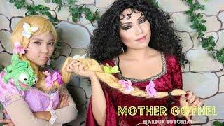 Download TANGLED Mother Gothel Makeup Tutorial Video