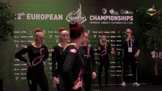 Download 2018 TeamGym Europeans - Qualifications – Junior Mixed Teams Video