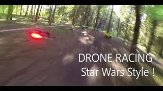 Download FPV Racing drone racing star wars style Pod racing are back! Video