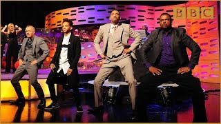 Download Will & Jaden Smith, DJ Jazzy Jeff and Alfonso Ribeiro Rap! - The Graham Norton Show - BBC One Video