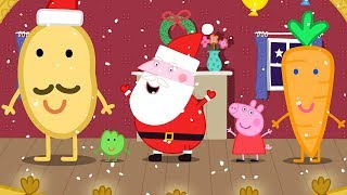 Download Peppa Pig English Episodes in 4K   Mr Potato's Christmas Show! Peppa Pig Official Video