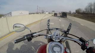 Download V Star 950 How does it do on the Highway? srkcycles Video