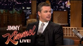 Download Matt Damon Insults Jimmy Kimmel on The Tonight Show Video