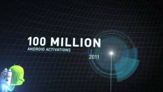 Download 100 Million Android Activations Video
