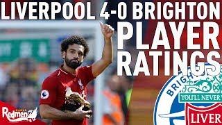 Download Salah, Mane & Robbo Get 10s! | Liverpool v Brighton 4-0 | Player Ratings Video