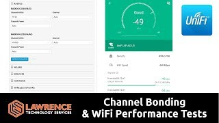 Download What is Channel Bonding & WiFi Performance Tests 20MHz vs 80MHz ( UniFI VHT80 vs VHT20) Video