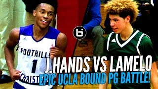 Download LaMelo Ball vs Jaylen Hands! Battle of Future UCLA Point Guards at The Battlezone! Video