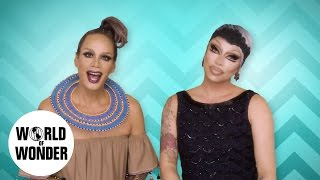 Download FASHION PHOTO RUVIEW:Kim Chi, Princess, Alexis, Milk, Delta, Ben w/ Raja & Raven: RuPaul's Drag Race Video