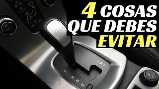 Download 4 COSAS QUE DEBES EVITAR EN UN COCHE AUTOMÁTICO - Velocidad Total Video