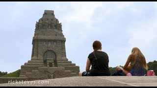 Download Leipzig, Germany: Monument to the Battle of the Nations Video