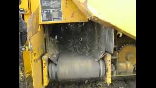 Download laying drainage tile with a vermeer trencher. Video