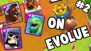 Download ON EVOLUE A FOND | LET'S PLAY #2 | Clash Royale Video