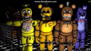 FNaF SFM] ''Monster Song'' Animation by SS Animations (Song Skillet