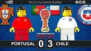 Download Portugal vs Chile 0-3 • Semi-finals Confederations Cup Russia 2017 • 28/06/2017 • Lego Football Film Video