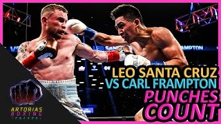 Download Leo Santa Cruz vs Carl Frampton I (Landed Punches Count) Video