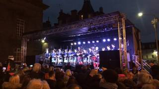 Download Red Hot Chilli Pipers - Perth St Andrews Day 2016 - with Strathallan School Pipe Band Video