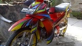 Download Video Modifikasi Yamaha Vega R Airbrush | Bahan Modifikasi Video