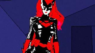 Download PIXEL ART FOR GAMES - 8BIT BATWOMAN SPEED ART Video
