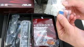 Download ASUS Maximus III Formula P55 SLI LGA1156 Core i5 Motherboard Unboxing Linus Tech Tips Video