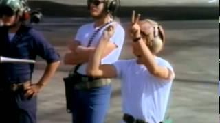 Download TOP GUN tower flyby filming Video
