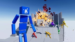 Download When You Accidentally Drop Ragdoll Dummies Into An Explosive Blender in Fun With Ragdolls Video