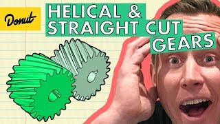 Download HELICAL VS. STRAIGHT CUT GEARS | Donut Media Video