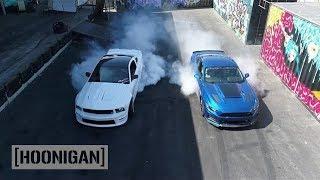 Download [HOONIGAN] DT 073: 750HP Roush RS3 2017 Mustang VS 550HP '06 Mustang w/ Justin Pawlak Video