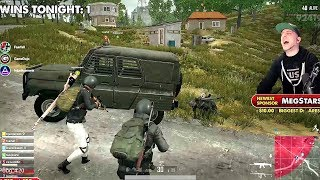 Download Highlights // PUBG ARMORED UAZ + 8-Man Teams EVENT from Live Stream Video