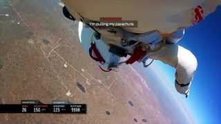 Download INSPIRATIONAL - Felix Baumgartner - Headcam footage space Jump!! FULL Video