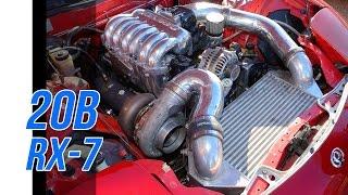 Download Rotary 20B turbo RX7 - Dyno & track Video