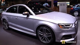 Download 2017 Audi S3 - Exterior and Interior Walkaround - 2017 Chicago Auto Show Video