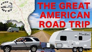 Download GREAT AMERICAN ROAD TRIP - RV trip from MIAMI to CHICAGO and back, boondocking and exploring. Video
