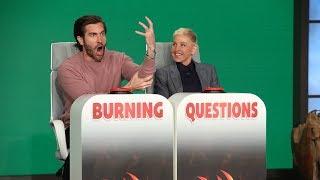 Download Jake Gyllenhaal Answers Ellen's 'Burning Questions' Video