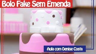 Download Bolo Fake Sem Emenda (Denise Costa) | Só Isopor Video