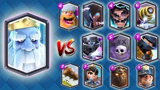 Download NEW TROOP VS ALL LEGENDARY CARDS | CLASH ROYALE 1 VS 1 UPDATE GAMEPLAY ! Video