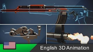 Download AK-47 - How this rifle works! (Animation) Video